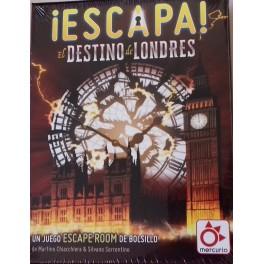 Escapa: El destino de Londres juego de cartas