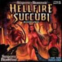 Shadows of Brimstone: hellfire succubi mission pack expansión juego de mesa