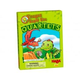 Dragon Diente de Trueno: familias Juego de cartas para niños de Haba
