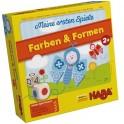 Mis primeros juegos:  colores y formas juego de mesa para niños de haba