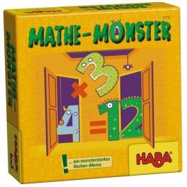 Monstruo de las mates juego de mesa para niños de haba