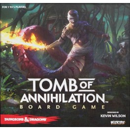 Dungeons & Dragons: Tomb of Annihilation - standard edition juego de mesa