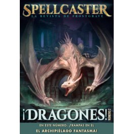 Revista de rol Spellcaster - numero 2 - la revista de Frostgrave - revista