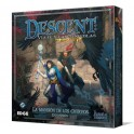 Descent: la mansion de los cuervos juego de mesa