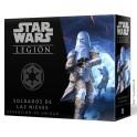 Star Wars Legion: Soldados de las nieves expansión juego de mesa