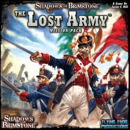 Shadows of Brimstone: the lost army Mission pack - expansión juego de mesa