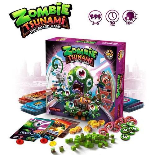 Comprar Zombie Tsunami Juego De Mesa