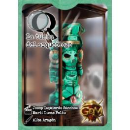 Q Serie: La Tumba del Arqueologo - juego de cartas