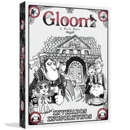 Gloom: invitados inoportunos expansion juego de cartas