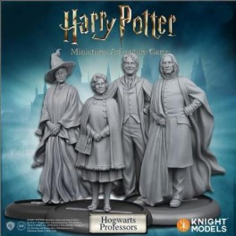 Harry Potter Miniatures Adventure Game: profesores de Howarts - expansión juego de mesa