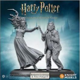Harry Potter Miniatures Adventure Game: Bellatrix y Colagusano - expansión juego de mesa