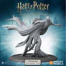 Harry Potter Miniatures Adventure Game: dementor, pack de aventuras - expansión juego de mesa