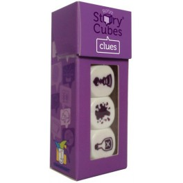 Story Cubes Pistas juego de mesa