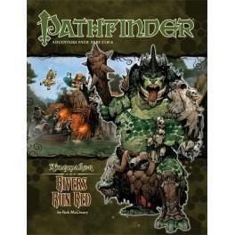 Pathfinder: Los rios se tiñen de rojo juego de rol