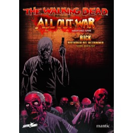 The Walking Dead: All Out War - Booster Rick desfigurado pero determinado expansión