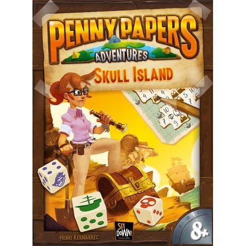 Comprar Penny Papers La Isla De La Calavera Juego De Mesa Dados