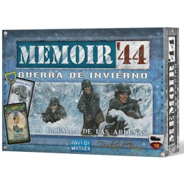 Memoir 44: Guerra de invierno - expansión juego de mesa