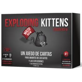 Exploding Kittens NSFW (Castellano) - juego de cartas