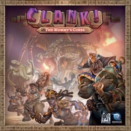 Clank the mummy's curse - expansión juego de mesa