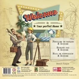 Welcome hacia el perfecto hogar: bloc de recambio - expansion juego de mesa