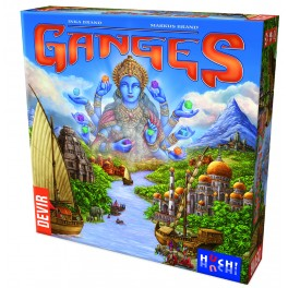 Rajas of the Ganges juego de mesa