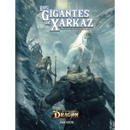 El resurgir del dragon: los gigantes de Xarkaz - suplemento de rol