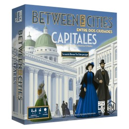 Between two cities: capitals expansion juego de mesa