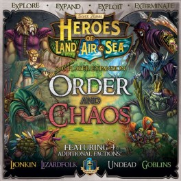 Heroes of Land, Air and Sea: Order and Chaos Expansion - expansión juego de mesa
