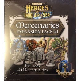Heroes of Land, Air and Sea: mercenaries expansion pack 1 - expansión juego de mesa