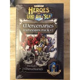 Heroes of Land, Air and Sea: mercenaries expansion pack 2 - expansion juego de mesa