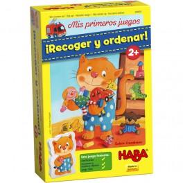 Mis primeros juegos: recoger y ordenar - juego de mesa para niños