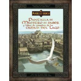 El anillo unico: pantalla del maestro del saber y libro de consulta de la ciudad del lago juego de rol