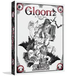 Gloom: muertos agitados - expansion juego de cartas