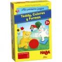 Mis primeros juegos: Teddy, Colores y Formas - Juego de mesa para niños de Haba