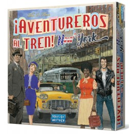 Aventureros al tren: New York - juego de mesa