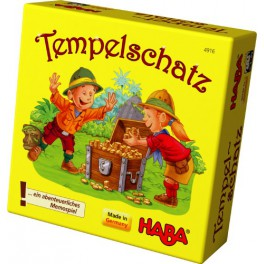 El templo del tesoro mini juego de mesa haba