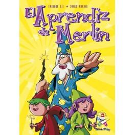 El Aprendiz de Merlin - juego de cartas para niños