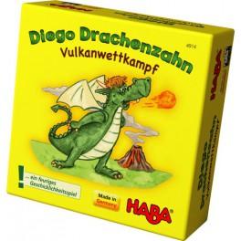 Diego Drago: Competicion volcanica mini juego de mesa haba