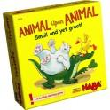 Animal sobre animal: Pequeño pero maton juego de mesa haba
