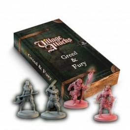 Village Attacks: avaricia y furia - expansión juego de mesa