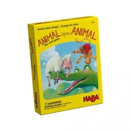 Animal sobre animal: Juego de cartas haba