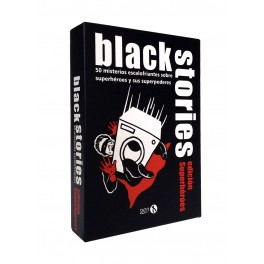 Black stories: Superheroes juego de cartas