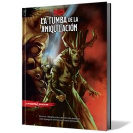 Dungeons and Dragons: La Tumba de la Aniquilacion edicion española - suplemento de rol