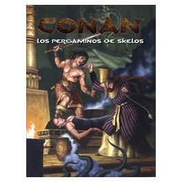 Conan: Los pergaminos de Skelos juego de rol