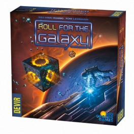 Roll for the Galaxy - juego de mesa de dados