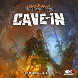 Star Scrappers: Cave-In - juego de cartas