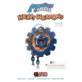 Monster Lands: Heavy Weapons - expansión juego de mesa