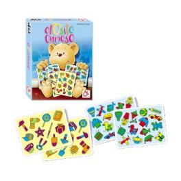 El Osito Curioso juego de cartas para niños