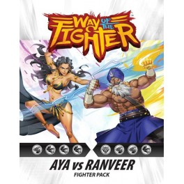 Way of the Fighter: Figther Pack Aya vs Ranveer - expansion juego de cartas