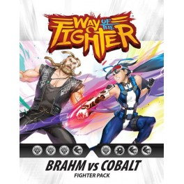 Way of the Fighter: Figther Pack Brahm vs Cobalt - expansion juego de cartas